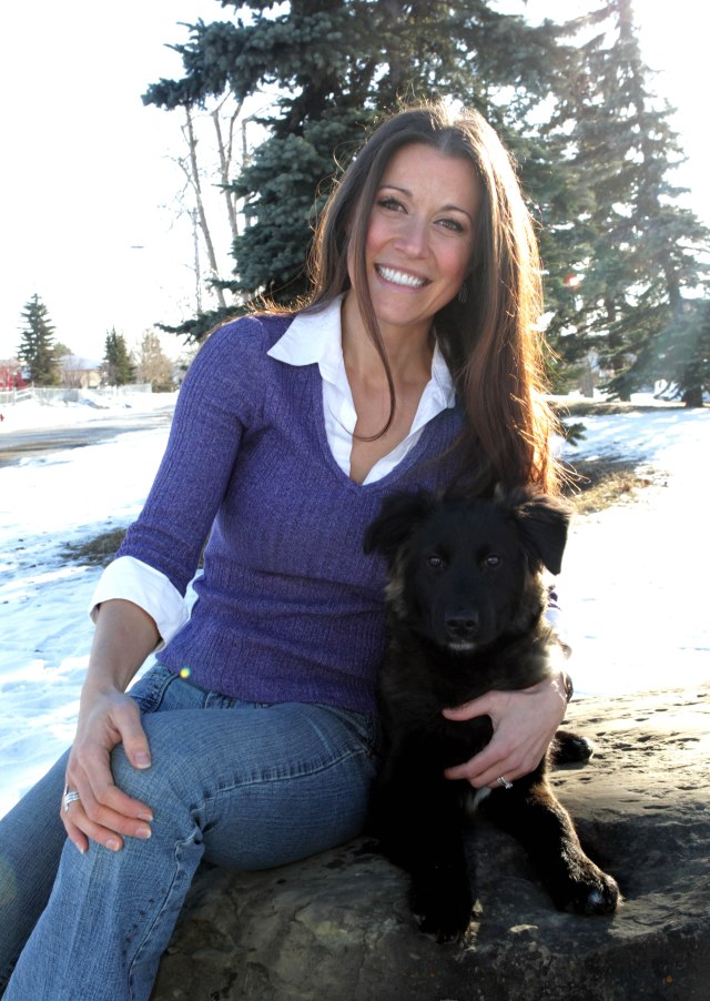 Andrea Kladar, a Chartered Investment Manager and animal lover with a big heart