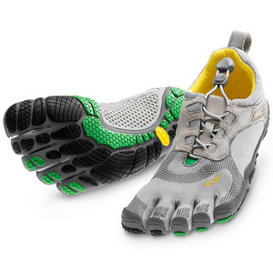 The barefoot running shoe